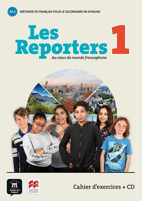LES REPORTERS 1 CAHIER | 9788417260101 | LE RAY, GWNENDOLINE / PACE, STÉPHANIE