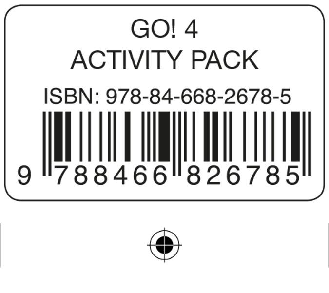 GO! 4 ACTIVITY PACK | 9788466826785 | PRIMARIA